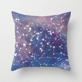 Star Constellations Throw Pillow