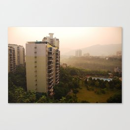 in the morning Canvas Print