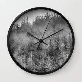 Dream woods. Into the woods Wall Clock