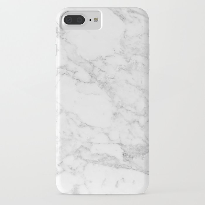 white marble edition 2 iphone case