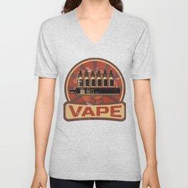 Vape Propaganda | Vaper Vaping E-Cigarette Unisex V-Neck