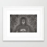 buddah Framed Art Prints featuring Buddah by Tianna Chantal