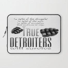 True Detroiters Laptop Sleeve