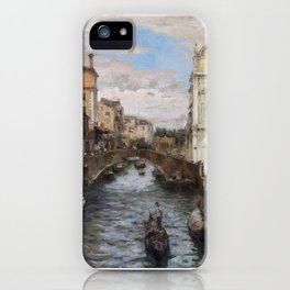 Venice in Winter iPhone Case