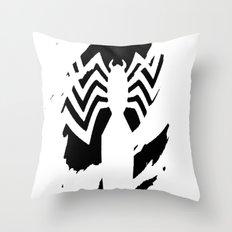 Venom in you Throw Pillow