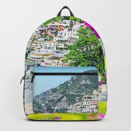 Positano, Amalfi Coast, Italy Backpack