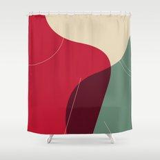lean Shower Curtain