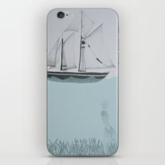 went on a ship of paper iPhone & iPod Skin