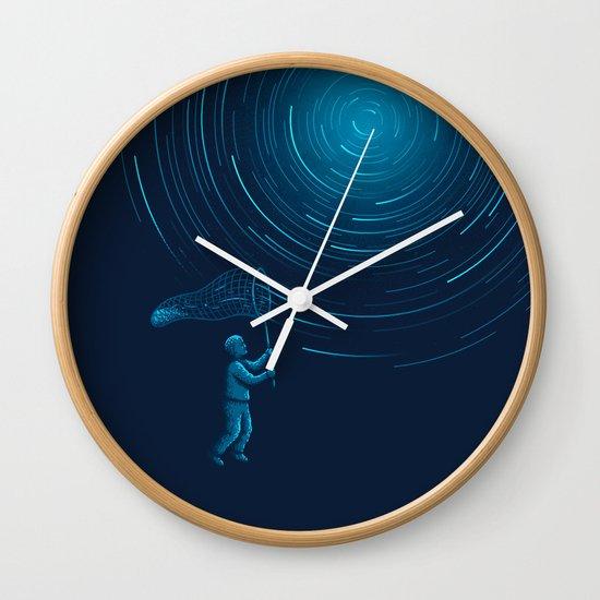 Catch a Star trail Wall Clock