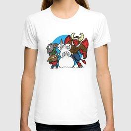 Hell Freezes Over Snowman T-shirt