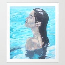 Bliss at Sea Art Print