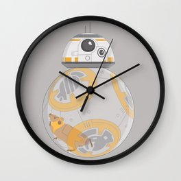Hamster BBall Wall Clock