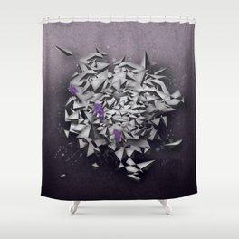 Alexandrites Shower Curtain