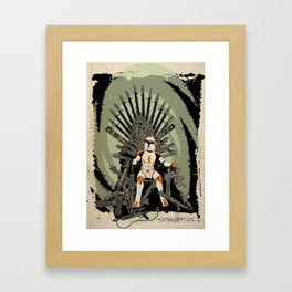 Game of Clones Framed Art Print