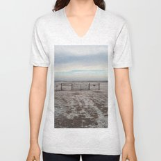 Snowy Gate Unisex V-Neck