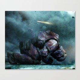 BUFFALO REIGNS Canvas Print