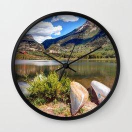 Beaver Lake Colorado USA Wall Clock