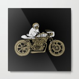 Let's Ride Metal Print