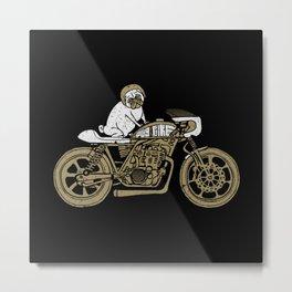 Let's Ride Metal Print