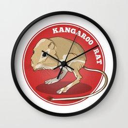 Kangaroo Rat Wall Clock