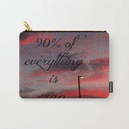 Ninety Percent Carry-All Pouch