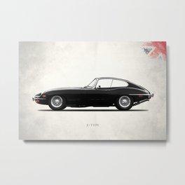 E-Type 69 Metal Print