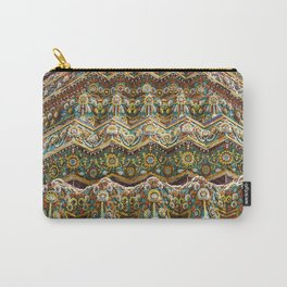 Textures of Wat Pho, Bangkok Carry-All Pouch