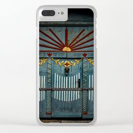 The Gate to Valhalla Clear iPhone Case