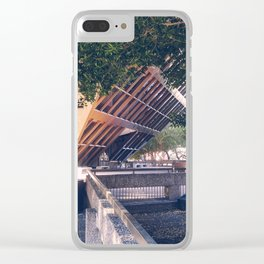 American Suburbs - Tempe City Hall Clear iPhone Case