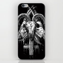 Goat 666 iPhone Skin