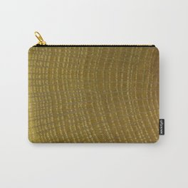 Oak Wood Grain Carry-All Pouch