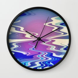 Icy River Wall Clock