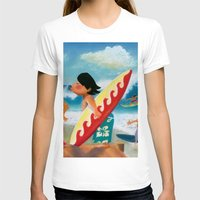 surfer T-shirts featuring Surfer by colortown