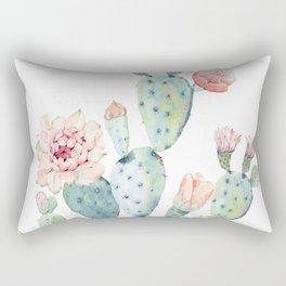 Cactus 2  White #society6 #buyart Rectangular Pillow