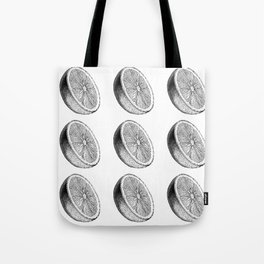 Orange is the new pattern Tote Bag