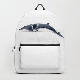 Baby Minke whale Backpack