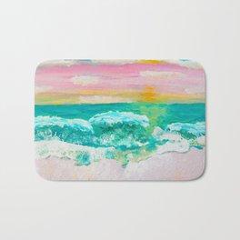 Pink Sand Sunset Bath Mat