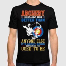Archery Shirt For Grandson. Gift Ideas T-shirt