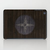 skyrim iPad Cases featuring Shield's of Skyrim - Downstar by VineDesign