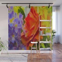 HUNTSVILLE FLOWERS Wall Mural