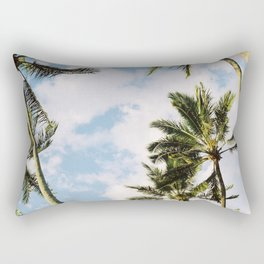 Palm tree in Cairns Rectangular Pillow