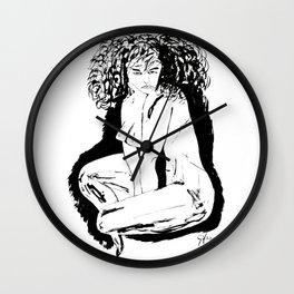 Woman Fatale Wall Clock
