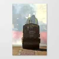 work hard Canvas Prints featuring hard work by Asya Bagdasaryan