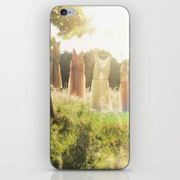 Lace laundry iPhone Skin