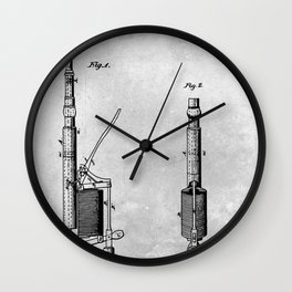Dental plugger Wall Clock