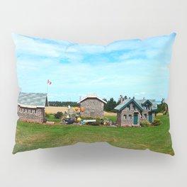 Hannah's Bottle Village Pillow Sham