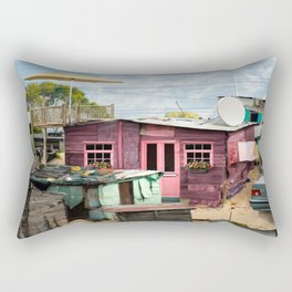 Squat New Age Rectangular Pillow
