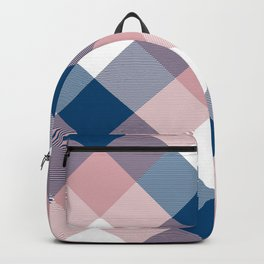 Geometrical Square Abstraction Backpack