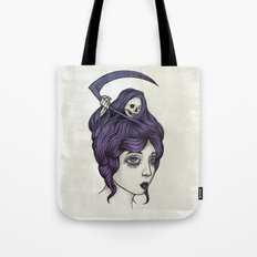 Tänk på döden Tote Bag