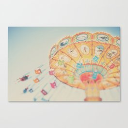 carnival swing II ... Canvas Print